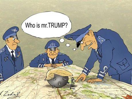 NATO lo doi pho ong Donald Trump - Anh 1