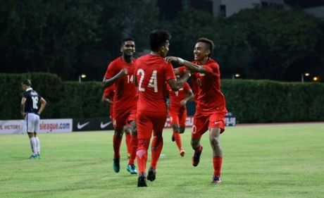 Singapore chay da hoan hao truoc them AFF Suzuki Cup - Anh 1