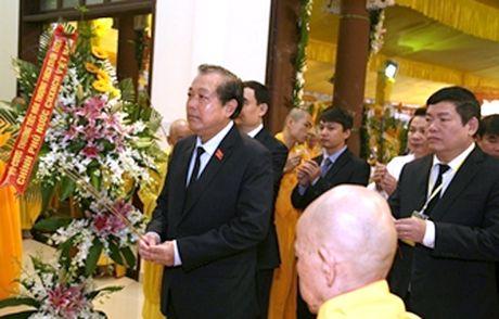 Pho Thu tuong Thuong truc Truong Hoa Binh vieng Hoa thuong Thich Chon Thien - Anh 1