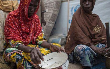 Anh Boko Haram bat coc nu sinh va de tre em truoc nguy co chet doi - Anh 5