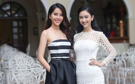 Ha Thu - Nam Em dien vay doi lap khoe nhan sac yeu kieu - Anh 14