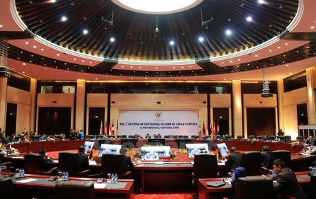 Khai mac Hoi nghi Thi truong thu do cac nuoc ASEAN lan thu 4 tai Lao - Anh 1