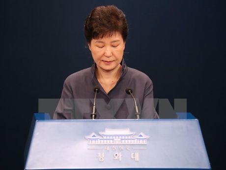 Tong thong Han Quoc Park Geun-hye de nghi hoan tham van - Anh 1