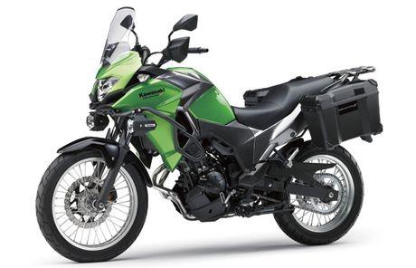 Ra mat Kawasaki Versys-X 250 2017 phong cach the thao - Anh 1