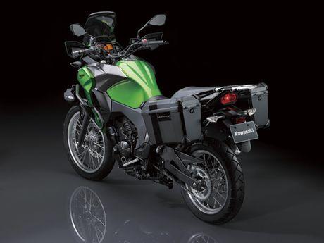 Ra mat Kawasaki Versys-X 250 2017 phong cach the thao - Anh 5