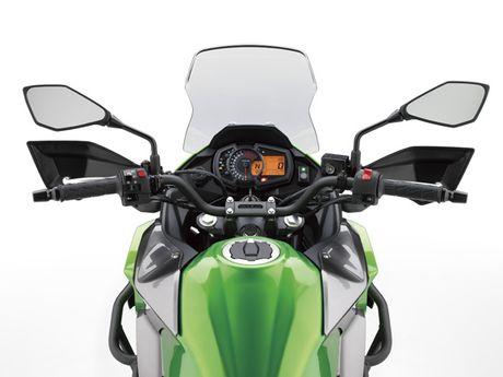 Ra mat Kawasaki Versys-X 250 2017 phong cach the thao - Anh 7