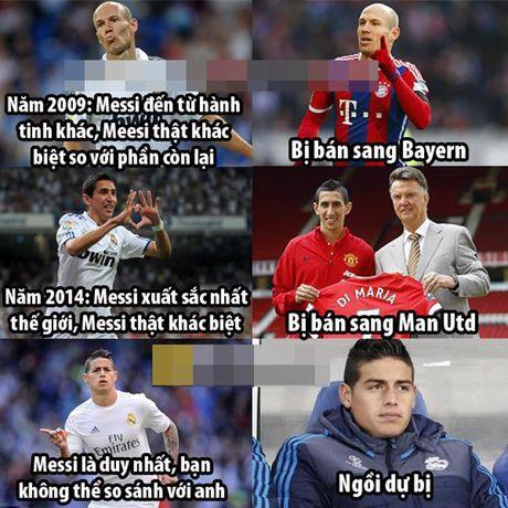 Anh che: Sao Real lun bai vi Messi; 'Vua bong da' truyen thu 'bi kiep bi ruong bo' - Anh 1