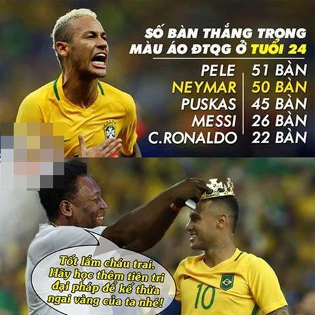 Anh che: Sao Real lun bai vi Messi; 'Vua bong da' truyen thu 'bi kiep bi ruong bo' - Anh 6