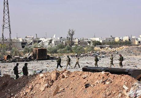Quan doi Syria giai phong quan Dahiyet al-Assad o tay Aleppo - Anh 10
