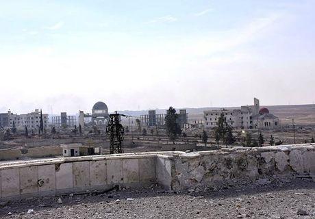 Quan doi Syria giai phong quan Dahiyet al-Assad o tay Aleppo - Anh 11