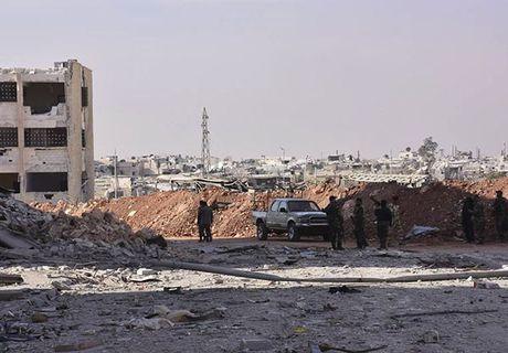 Quan doi Syria giai phong quan Dahiyet al-Assad o tay Aleppo - Anh 2