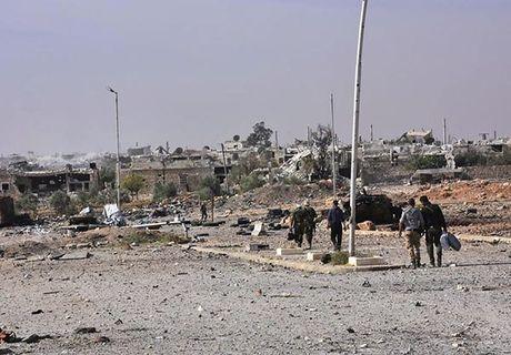 Quan doi Syria giai phong quan Dahiyet al-Assad o tay Aleppo - Anh 3