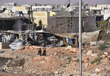 Quan doi Syria giai phong quan Dahiyet al-Assad o tay Aleppo - Anh 4