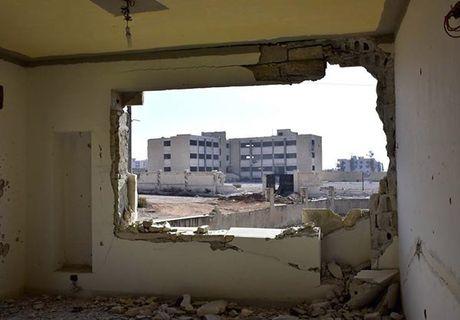 Quan doi Syria giai phong quan Dahiyet al-Assad o tay Aleppo - Anh 5