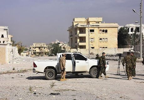 Quan doi Syria giai phong quan Dahiyet al-Assad o tay Aleppo - Anh 6