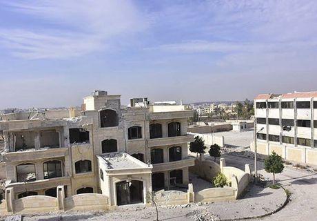 Quan doi Syria giai phong quan Dahiyet al-Assad o tay Aleppo - Anh 7
