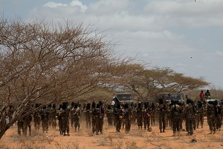 Dot nhap trai huan luyen cua phien quan al-Shabab o Somalia - Anh 1