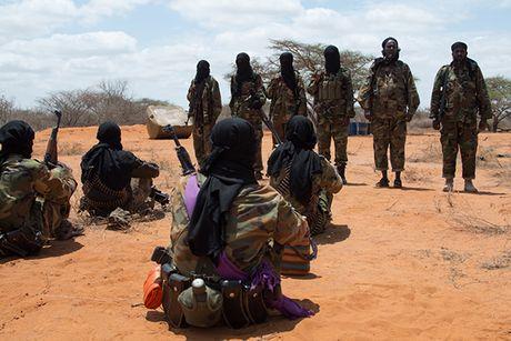 Dot nhap trai huan luyen cua phien quan al-Shabab o Somalia - Anh 2