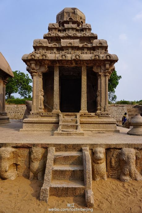 Tham thanh pho cua nhung ngoi den Mahabalipuram - Anh 1