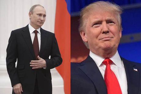 Tong thong dac cu Trump va Tong thong Putin dien dam, hen gap mat - Anh 1