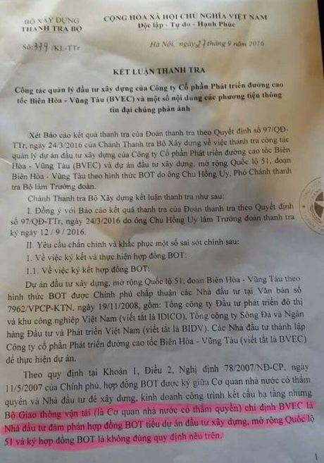 Du an BOT quoc lo 51: Co hay khong nhung 'lo hong' chuyen von? - Anh 2