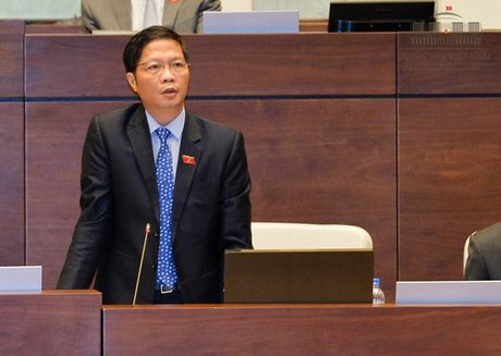 Bo truong Bo Cong Thuong tiep tuc tra loi chat van - Anh 1