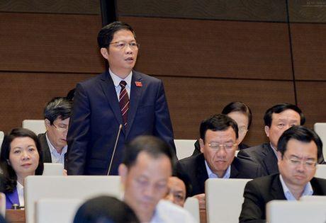 """Bo truong Tran Tuan Anh """"mo hang"""" tra loi chat van - Anh 1"""