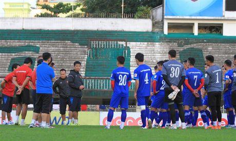 Tin HOT toi 15/11: Tuan Anh vang mat tai buoi tap dau tien o Myanmar - Anh 1