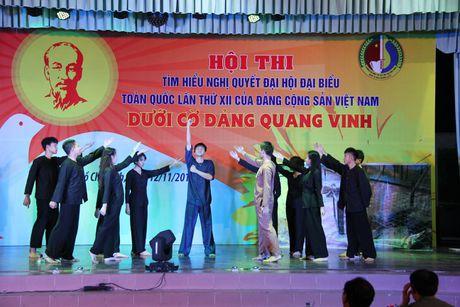 Dai hoc ANND to chuc thi 'Tim hieu Nghi quyet Dai hoi Dang toan quoc lan thu XII' - Anh 1