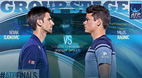 "Tennis, ATP Finals ngay 3: Djokovic dau ""May ban bong"" - Anh 1"