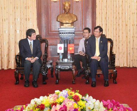 Lanh dao VKSNDTC tiep Doan dai bieu Bo Tu phap Nhat Ban - Anh 1