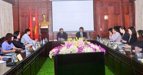 Lanh dao VKSNDTC tiep Doan dai bieu Bo Tu phap Nhat Ban - Anh 2