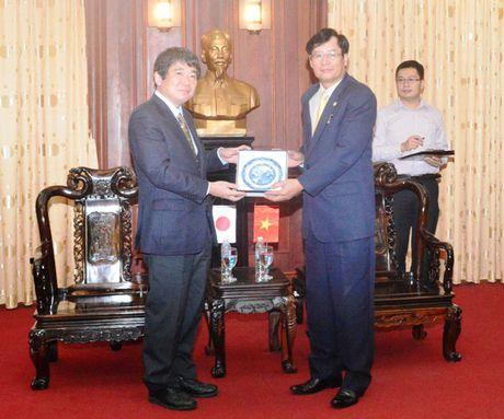 Lanh dao VKSNDTC tiep Doan dai bieu Bo Tu phap Nhat Ban - Anh 3
