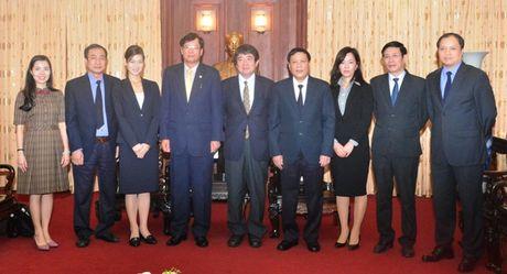 Lanh dao VKSNDTC tiep Doan dai bieu Bo Tu phap Nhat Ban - Anh 4