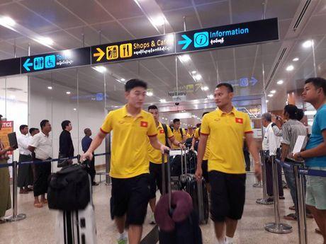 Nhung hinh anh dau tien cua tuyen Viet Nam tai Myanmar - Anh 6