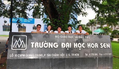 Truong Dai hoc Hoa Sen cam ket khong tang hoc phi - Anh 1