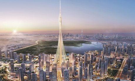 Toa nha sap soan ngoi cao nhat the gioi cua thap Burj Khalifa - Anh 1