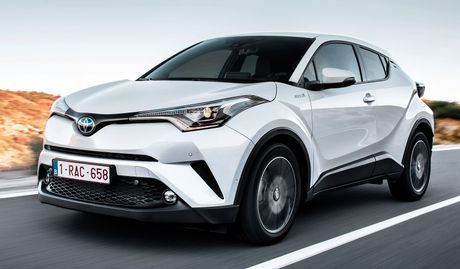 Hinh anh chi tiet cua Toyota C-HR 2017 - Anh 5