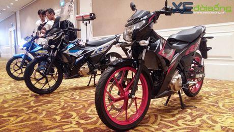 Ra mat Suzuki Raider Fi gia 49 trieu dong tai Viet Nam - Anh 3