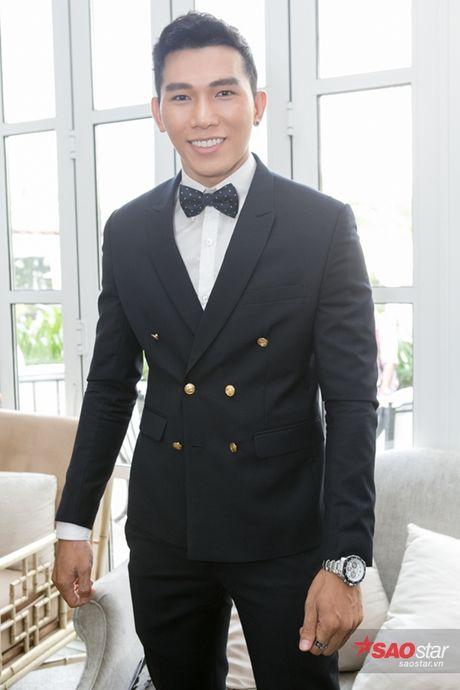 Ha Ho cung dan thi sinh The Face hao huc mung Lan Khue len chuc - Anh 20