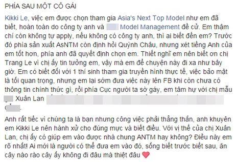 Quynh Chau: 'Toi bat ngo ve viec bi em thong tin duoc moi thi Next Top chau A' - Anh 2