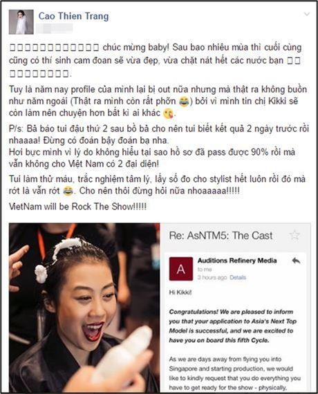 Quynh Chau: 'Toi bat ngo ve viec bi em thong tin duoc moi thi Next Top chau A' - Anh 7