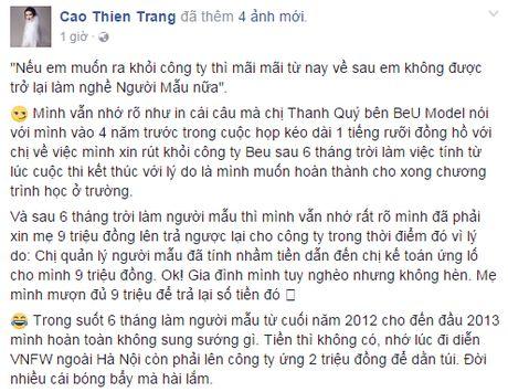 Quynh Chau: 'Toi bat ngo ve viec bi em thong tin duoc moi thi Next Top chau A' - Anh 8