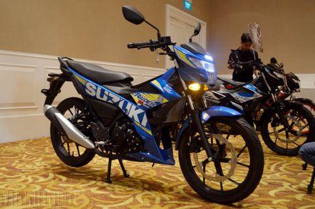 Suzuki Raider R150 the he moi gia tu 49 trieu dong tai Viet Nam - Anh 1