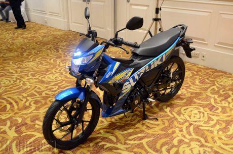 Suzuki Raider R150 the he moi gia tu 49 trieu dong tai Viet Nam - Anh 2