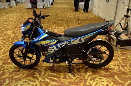 Suzuki Raider R150 the he moi gia tu 49 trieu dong tai Viet Nam - Anh 3