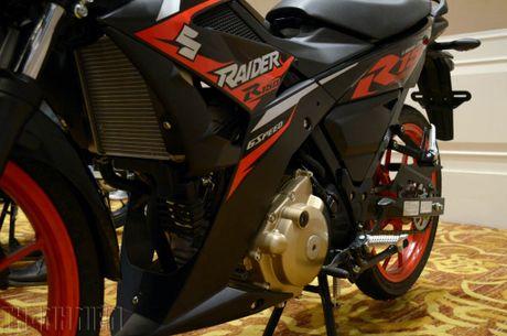 Suzuki Raider R150 the he moi gia tu 49 trieu dong tai Viet Nam - Anh 6