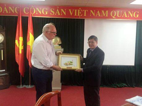 Chuyen gia Hoi dong Cong doan Uc se chia se kinh nghiem hoat dong cong doan toi can bo Cong doan Viet Nam - Anh 4
