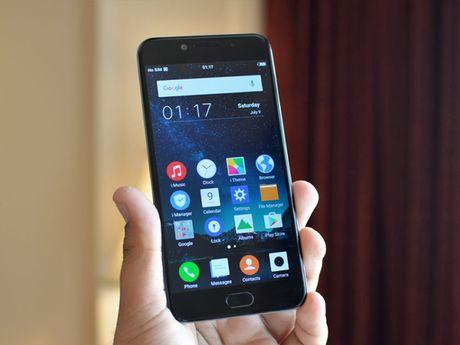 Vivo V5: Smartphone dau tien trang bi camera truoc 20 MP - Anh 1