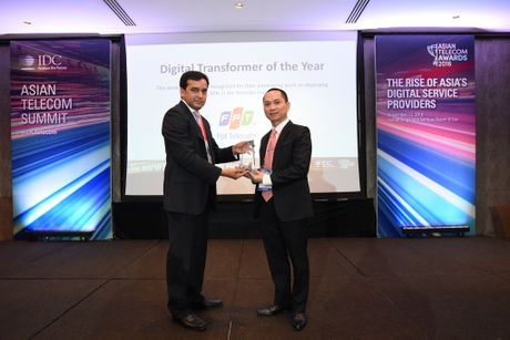 FPT Telecom dat danh hieu Digital Transformer of The Year - Anh 1
